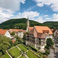 Luftaufnahme Residenzschloss Urach Fotograf: Achim Mende