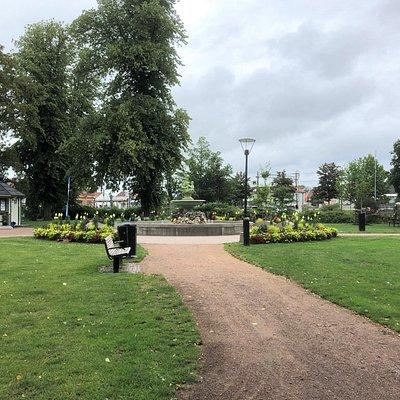 Badhusparken i Kungsbacka