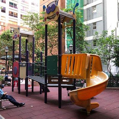 Queen Street Rest Garden - children's play area