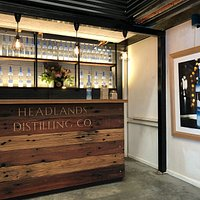 Tasting bar the the distillery