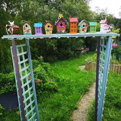Cute fairy house arch at Away with the Fairies