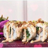 Äter här flera gånger i veckan, super god sushi