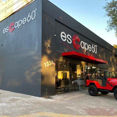 Fachada Escape60 Foz do Iguaçu