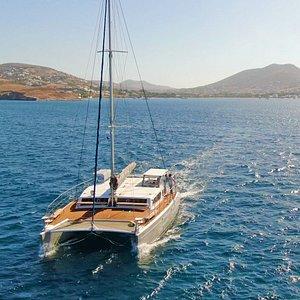 Our new sailing catamaran