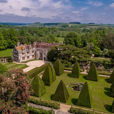 Athelhampton House, one of England's finest manor houses, a great day out in Dorset. Not a National Trust or English Heritage but a member of The Historic Houses