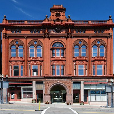 Current photo of the Smith Opera House's facade