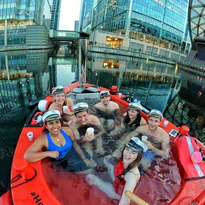 Skuna Hot Tub Boat