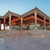 San Leon tavern-restaurant in Agios Leon, Zakynthos.