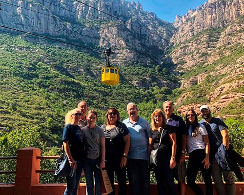 A small group tour of Montserrat