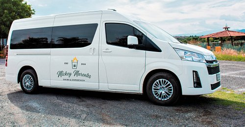 On the day of the tour and depending on the number of passengers, we may use one or multiple vehicles from our fleet.  All vehicles are equipped with A/C and are equally comfortable.