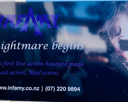 Infamy Tauranga - Haunted Maze