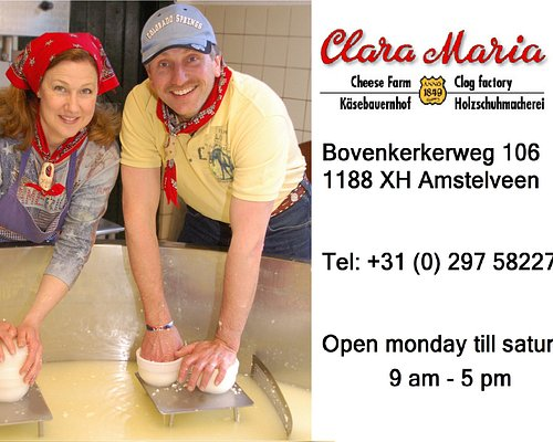 The farmer Kees-Jan and his wife, Katrina, welcome you to their traditional Dutch cheese farm, the Clara Maria in the Netherlands.