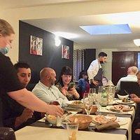 Un jeune chef talentueux en cuisine présage d'un bel avenir pour le Bosa