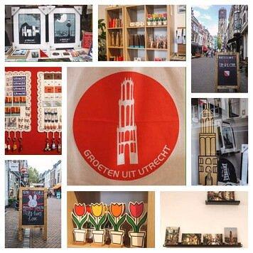 オランダユトレヒトに2018年にオープンしたお土産屋。ユトレヒト中央駅から徒歩約10分、ドム塔近く、ディック・ブルーナゆかりの切手屋とテオ・ブロムの間。 ナインチェ(ミッフィー)はじめオランダ、ユトレヒトグッズがたくさん。