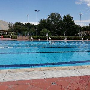 Piscina 50 metri per nuotare