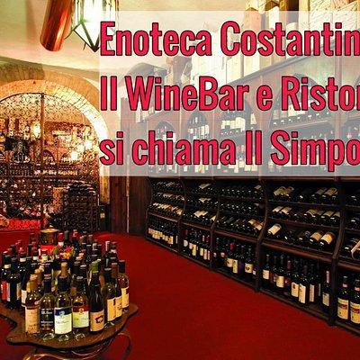 Enoteca Costantini. Solo vendita.