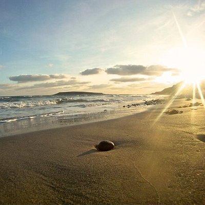 Beautiful sandy beach for families.  Part of the Mourne Gullion Strangford Aspiring UNESCO Global Geopark