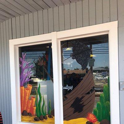 Professional Divers Window Art