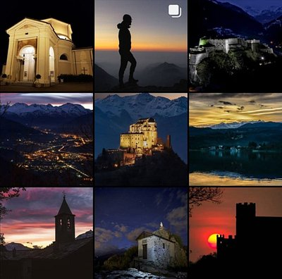"""[#valledisusa by night e le vostre #valsusaexperience]  🌙 """"E poi arriva la sera, a spegnere le parole accese, a ricucire gli strappi del giorno, a sfumare le incomprensioni""""  🌅 Ammirando le bellezze della Valle e scoprire i tanti eventi che la stanno arricchendo! Scopriteli con noi:  👉 https://www.valdisusaturismo.it/eventi/    💚Riconoscete i posti?  📷 IG @DavidePregnolato, @filo3dg ,@claudio_allais , @_mark.8_ @maxboggian , @priolomauro , @egonatura77 , @gabriella_allasio"""