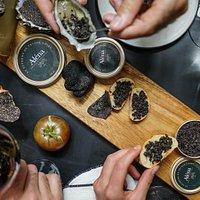 planches de tapas à la truffe avec les fameux Suprêmes de truffes Aléna