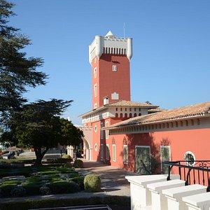 """Château de Crémat - Main Courtyard"""