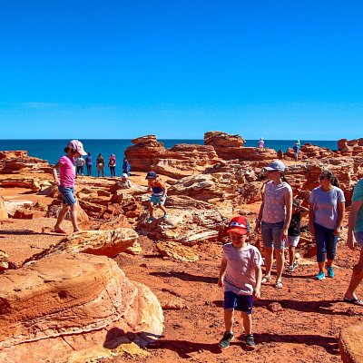Join us on our Panoramic Broome Town Tour  See all sights and hear all the diverse history