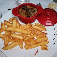 sauté de boeuf sauce camembert