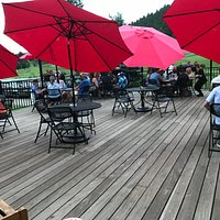 Enjoy our Patio for lunch or dinner