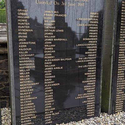 West Kilbridge War Memorial