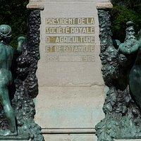 Ghent, Monument for Oswald de Kerchove de Denterghem (detail)