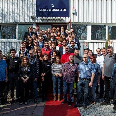 Das Team von Silkes Weinkeller bei der Weinmesse 2019