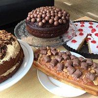 Scrumptious homemade cakes!