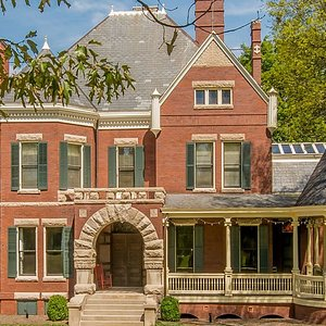 Historic Westwood was built in 1890 in the Queen Anne style with Richardsonian Romanesque elements.
