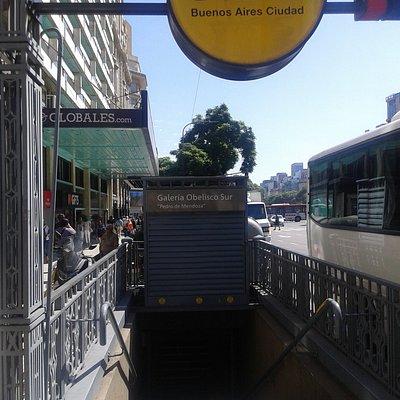 Galerìa Obelisco Sur Pedro de Mendoza: Microcentro- Ciudad de Buenos Aires- Argentina 2020.