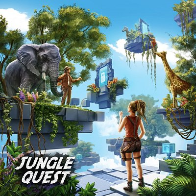 During a walk in the park, you found a portal that leads to the mysterious world. An amazing sanctuary populated by animals appears in front of you. But how do you get back?  To find the way home, you have to solve a series of puzzles and explore the mysterious world of flying islands.