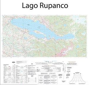 Es el mapa de Lago Rupanco