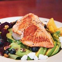 Super Food Salad with Salmon