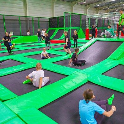 główna arena trampolin