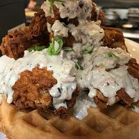 chicken & waffle southern style