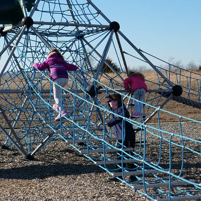 Pics from January due to playgrounds being off limits right now