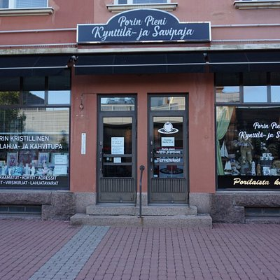 The Little Candle and Pottery Shop of Pori