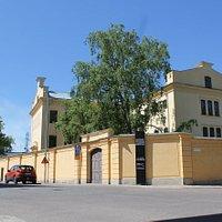 Gävleborgs läns cellfängelse byggt 1847.