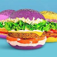 Burger colorati e gustosi!