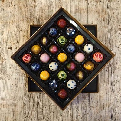 These are part of our mixed marbles range. Our most popular box.