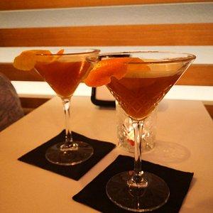 Digestivo con Montenegro, una punta di Fernet e succo d'arancia