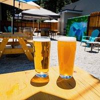 New beer garden we opened in the summer of 2020!