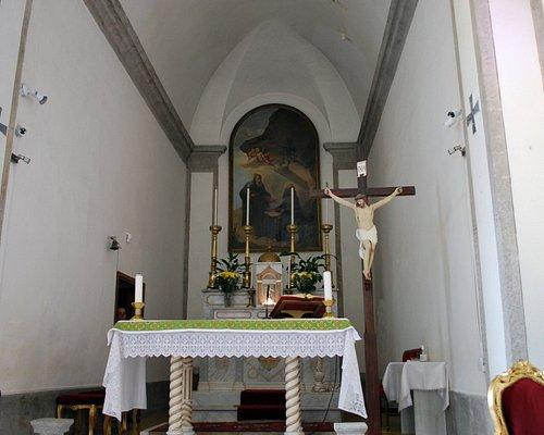 Interno Chiesa di San Egidio Abate