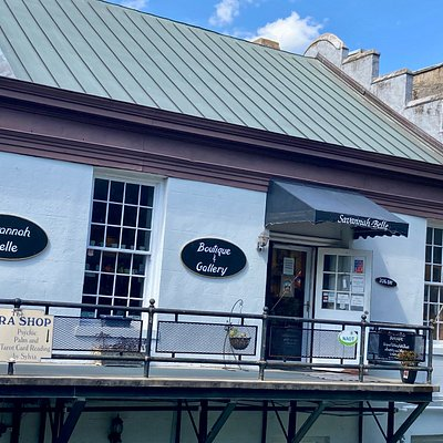 We are located on the corner of Abercorn & Bay Streets, Upper Factor's Walk, downtown historic Savannah!
