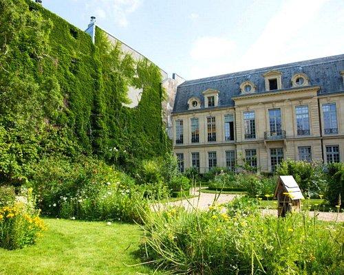 """square des Arts-Albert Schweitzer ; Jardin à la """"Française """" mixte jardin """" Sauvage """" / square des Arts-Albert Schweitzer; Mixed """"French"""" garden """"Sauvage"""" garden"""