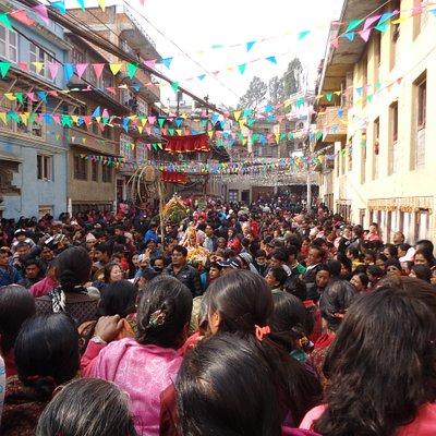 Indrayani Jatra, Kirtipur, for comparison